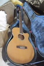 Vintage Epiphone Acoustic Electric Guitar Model# PR-4ENA With Case