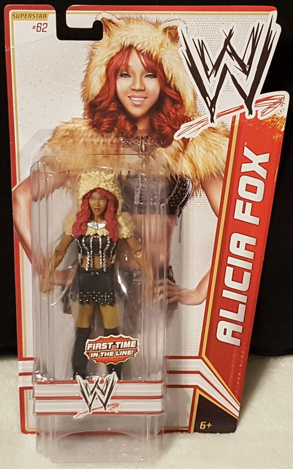 Alicia Fox WWE Diva Basic Series 19 Mattel Figure 2012 First Time In The Line