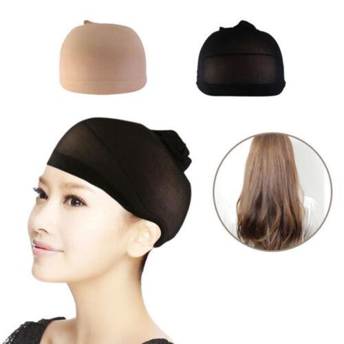LX/_ Men Women Soft Stocking Wig Liner Cap Hair Net Snood Nylon Stretch Mesh Pr
