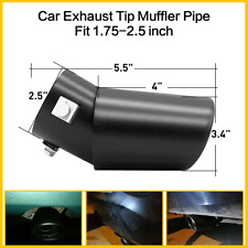 New Listingcar Muffler Tip Exhaust Pipe Bend Stainless Steel Effect Fit 14 25 Inch Fits 2012 Malibu
