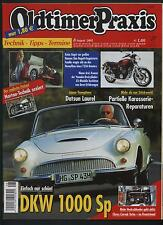 Oldtimer Praxis 8/05 DKW 1000 Sp Bugatti T35A Yamaha XS Chevy Corvair Torbo