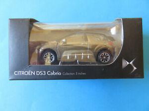Voiture-Auto-Jouet-miniature-NOREV-CITROEN-DS-3-2012-Cabrio-NEUVE