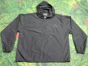 79afbdec21b1 Image is loading Caesars-Palace-Windbreaker-Lightweight-Jacket-Black-1-2-