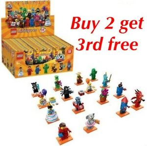 LEGO-Minifigures-Series-18-Party-71021-select-your-minifigure-NEW-RETIRED