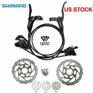 Shimano XT BR M8000 MTB Hydraulic Disc Brake Set Front/&Rear Ice-Tech RT81//RT86