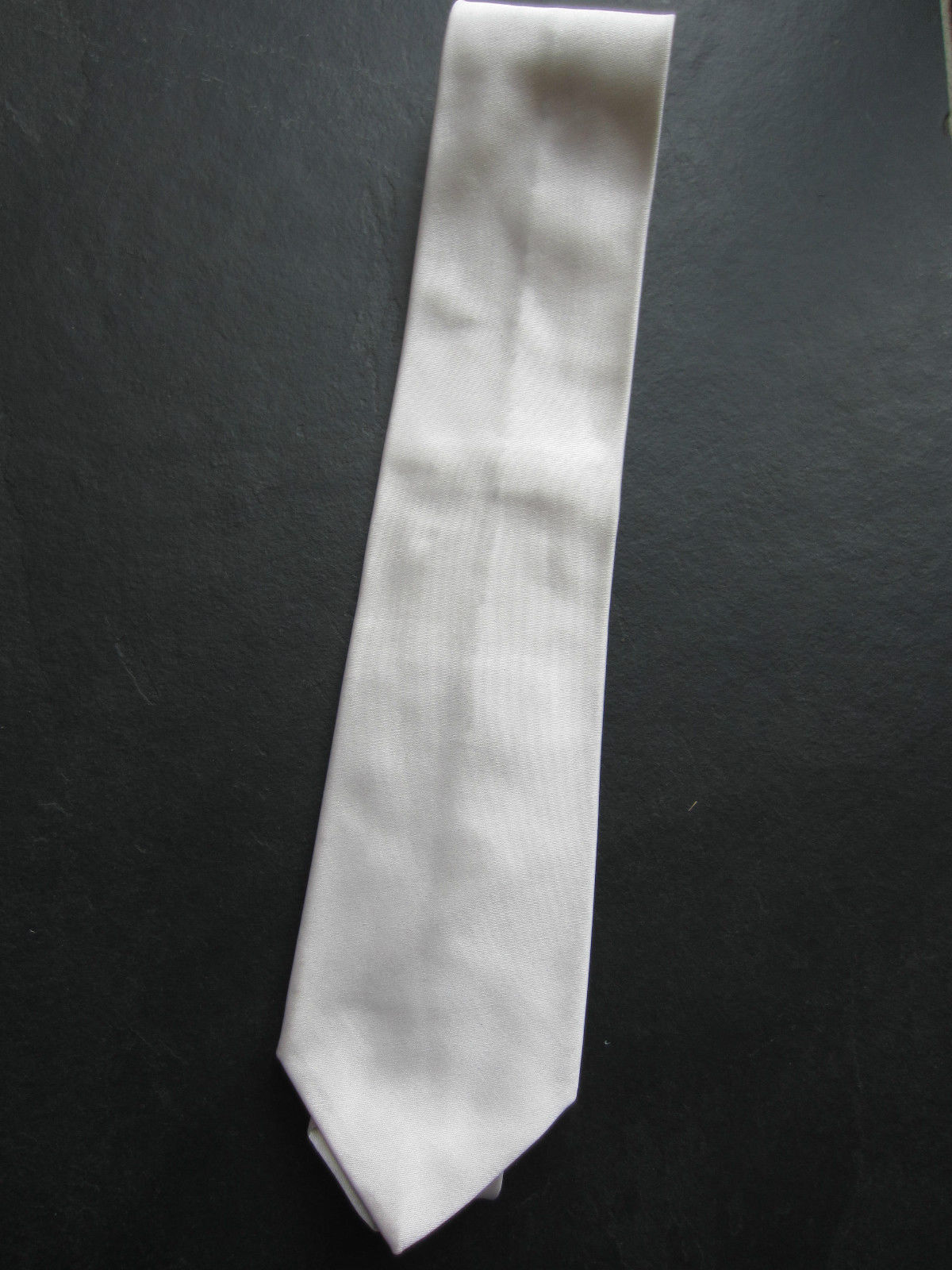 PAUL SMITH Silk TIE - Ivory colour with floral lining  - 9 cm Blade | Internationale Wahl