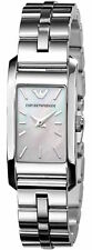 Emporio Armani AR0733 Mother of Pearl Analog Stainless Steel Womens Watch 50m WR