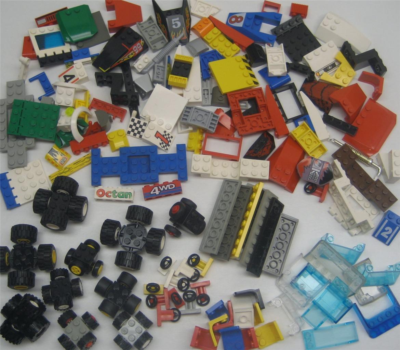 10 Lego Racecars Fête D'Anniversaire D'Anniversaire D'Anniversaire Kit Personnalisé 200 Voiture de Course c7081a
