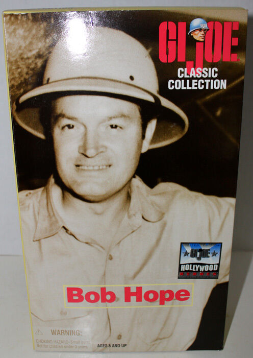 G.I. JOE MR. BOB HOPE LIMITED EDITION HOLLYWOOD HEROES COLLECTION MIB HASBRO '98