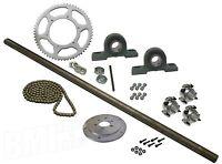 Drift Trike Kit Set 40 Chain 40 Axle Length Pillow Block Bearings Wheel Hubs