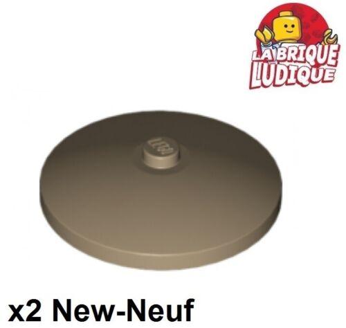 Lego 2x Dish disque radar 4x4 beige foncé//dark tan 3960 NEUF