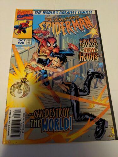 Sensational Spider-Man #26 April 1998 Marvel Comics Dezago Nauck Hennessy