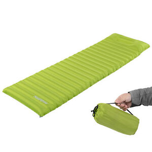 Outdoor Inflatable Air Mattress with Pillow Portable