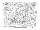 Dallinghoo old map Suffolk 1905: 67NE repro Debach Boulge Bredfield