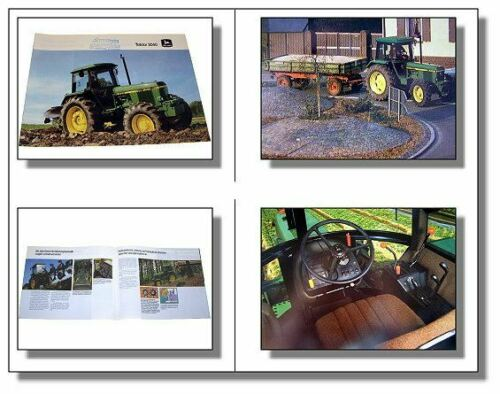 John Deere 3040 Traktor Schlepper Prospekt 1983