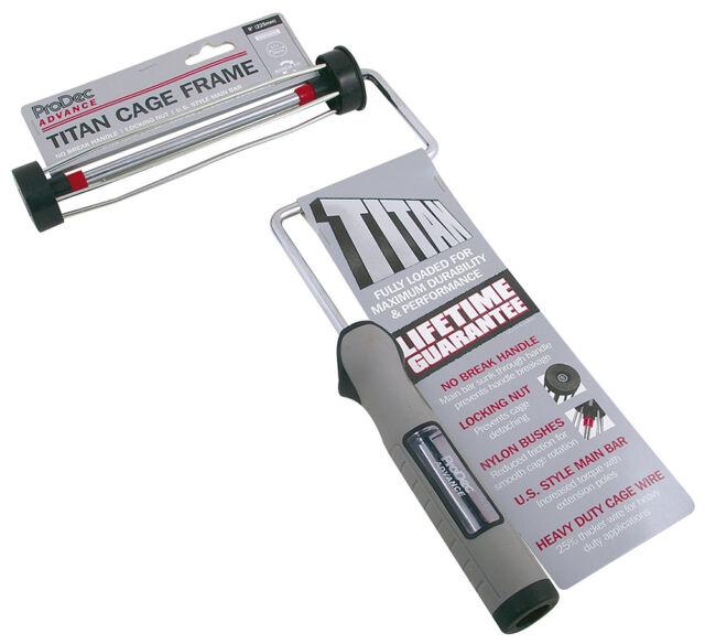 """ProDec Advance 'TITAN' 9"""" x 1.75"""" No Break Roller Cage Paint Frame (ARFR001)"""