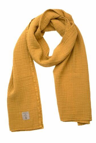 Lässig Muslin Nursing Scarf Schal Kindertrage Accessoire Mustard Gelb Neu