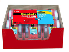 Scotch Heavy Duty Shipping Packaging Tape 188 X 800 Choose Size