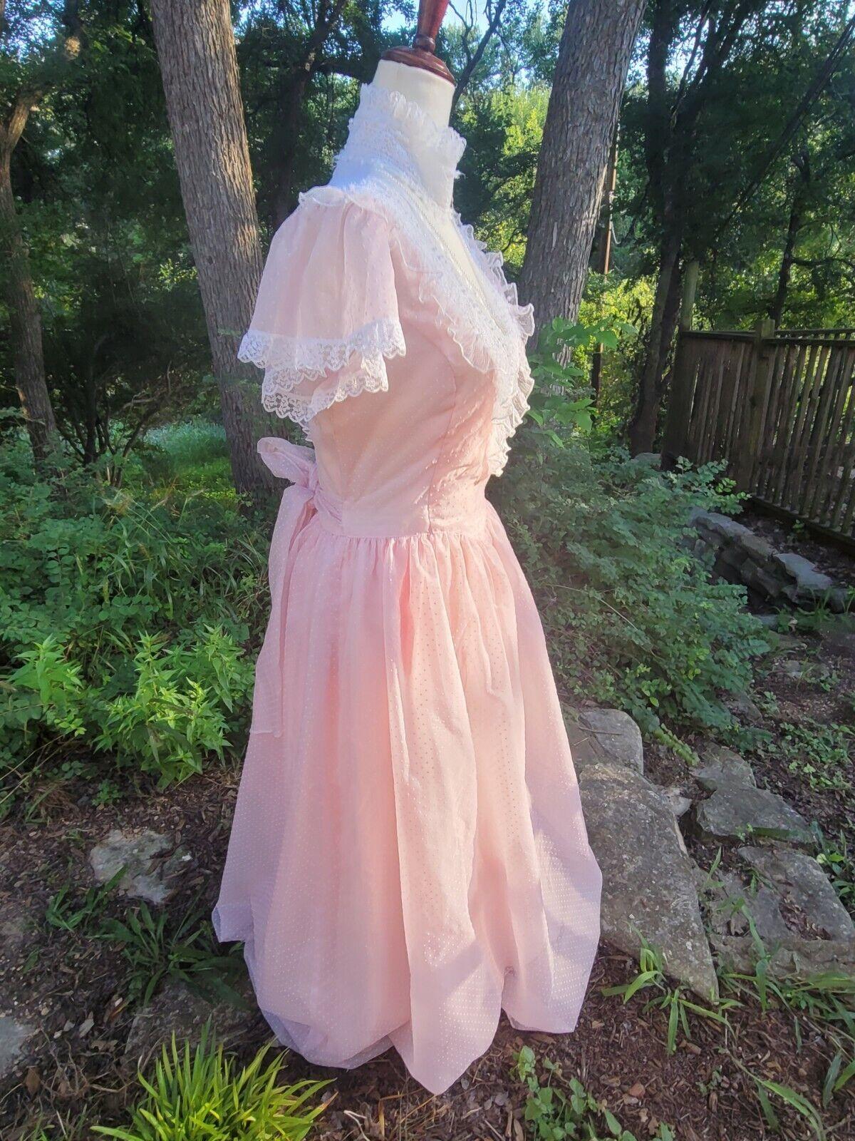 Vintage Gunne Sax Dress 9 princess Gunne Sax Swis… - image 3