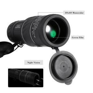 40-x-60-HD-Telescopio-Pocket-Focus-Monocular-de-pelicula-verde-para-vision