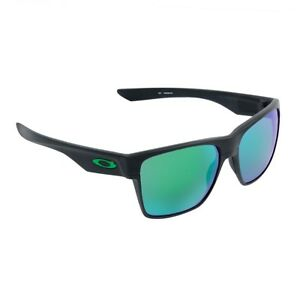 21bb33219ddc1 Oakley Two Face XL Matte Black Jade Iridium Brand New in Box with ...