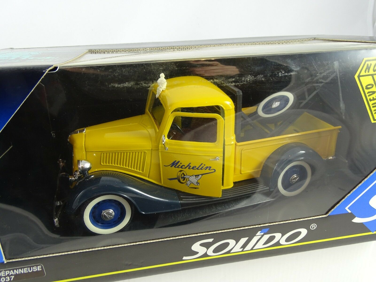 1 18 Solido  8037 Ford Depanneuse Michelin Yellow Rarity §