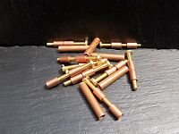 5 Pairs Of 6mm Copper & Brass Loveless Bolts Knife Making Handle Scales