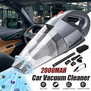 12V 120W 6 in 1 Handheld Cordless Car Vacuum Cleaner Wet&Dry Dust Cleaner
