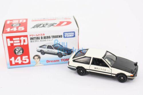 Takara Tomy Dream Tomica #145 Initial D AE86 Trueno Diecast Mini Classic Toy Car