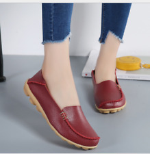 083c8b7aaa1 item 2 Womens Leather Shoes Loafers Driving Peas Walking Moccasin Flat  Casual Shoes - Womens Leather Shoes Loafers Driving Peas Walking Moccasin  Flat Casual ...