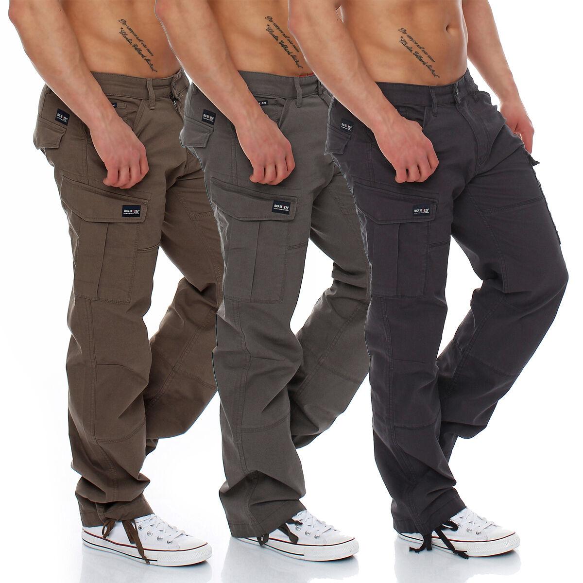 Big Seven - Brian - Cargo Trousers Comfort Fit - XXL Oversize - Men's Jeans -