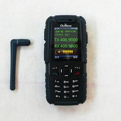 IP67 dust water proof GSM + WALKIE TALKIE BD-351 A 83 version Radio Walkie Phone