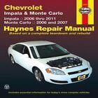 Chevrolet Impala & Monte Carto by John Haynes (Paperback, 2012)
