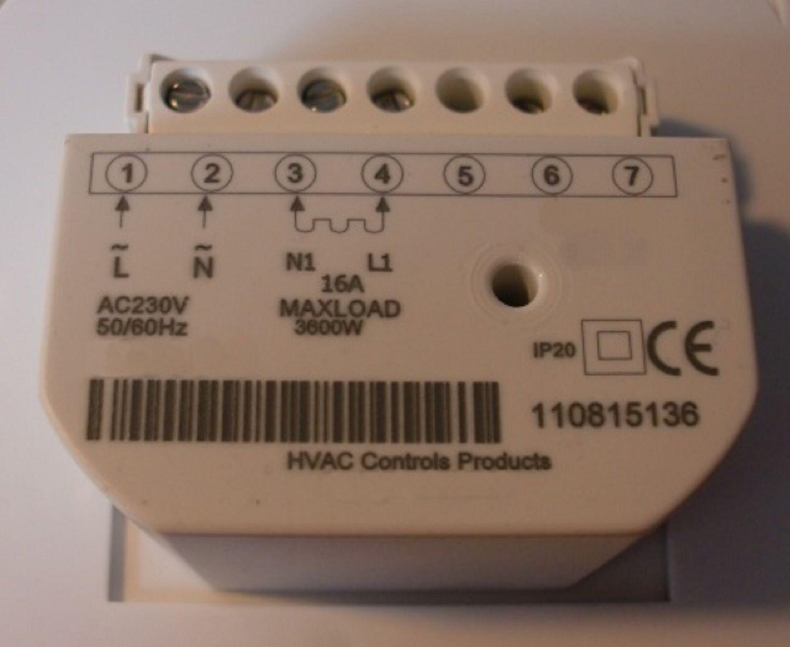 Thermostat hypocauste réservoir Blanc #830