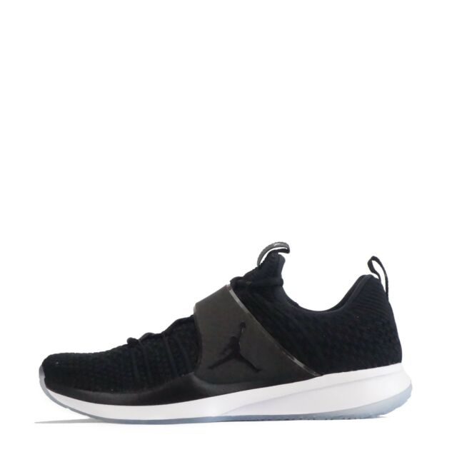 new product 8a31e ae740 Jordan Trainer 2 Flyknit Mens Trainers Black/White