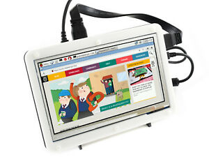 Details about Waveshare 7inch HDMI LCD (B) with Bicolor Case for Raspberry  Pi IPS Touch Screen