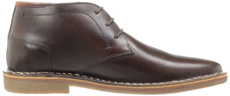 STEVE MADDEN mens HESTONN Leather CHUKKA Stiefel Ankle Desert Stiefel DARK braun 13 M
