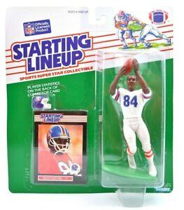 NEW 1989 Kenner NFL Starting Lineup Ricky Nattiel Denver Broncos Figure RARE H