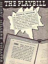 "Colin Clive ""LIBEL!"" Charles Francis / Otto Preminger 1936 Broadway Playbill"