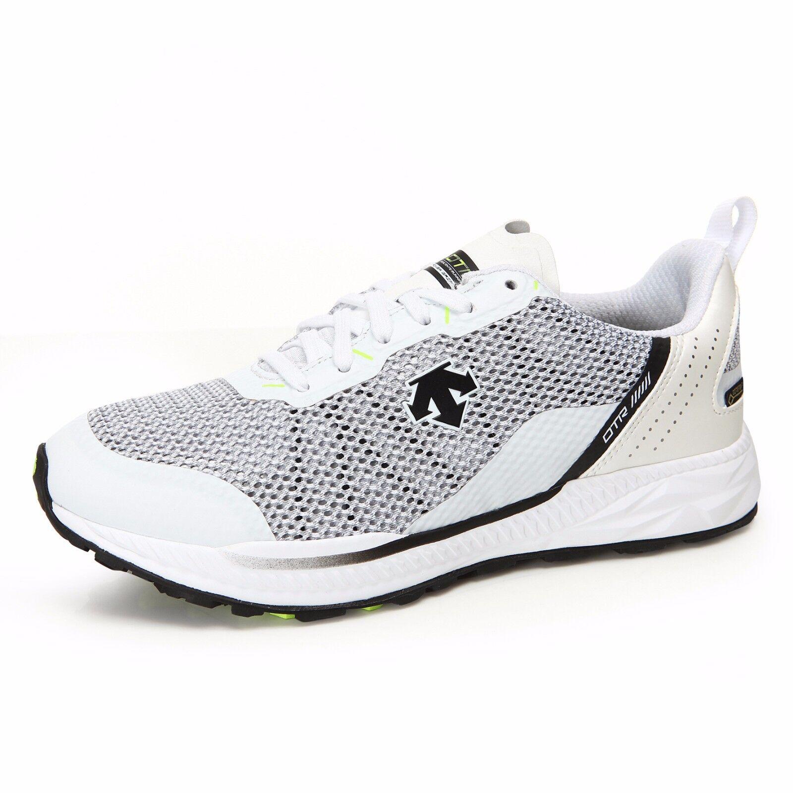 Descente Men's Blaze Tough Wide White GoreTex Running shoes Authentic NEW