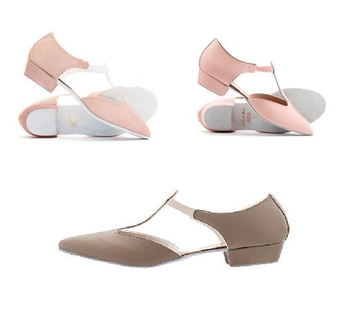 Pink leather Roch Valley/Katz/Freed greek sandals - various sizes