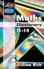 KS3 Maths Dictionary by Letts Educational (Paperback, 2002)