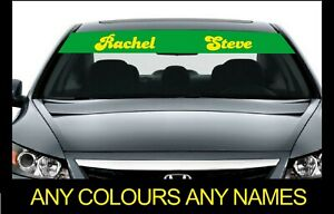 ADD YOUR TEXT TO THIS TRANSIT SUN STRIP GRAPHICS  choose any 2 colours from list