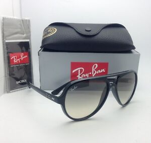 New RAY-BAN Sunglasses RB 4125 CATS 5000 601 32 59-13 Black w Grey ... 45c247c6dd