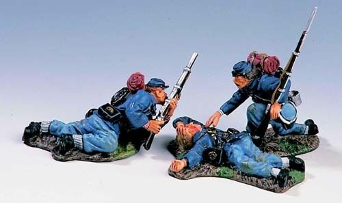 KING & COUNTRY 1ST SERIES CIVIL WAR UNION ACW04 HELPING A FRIEND MIB
