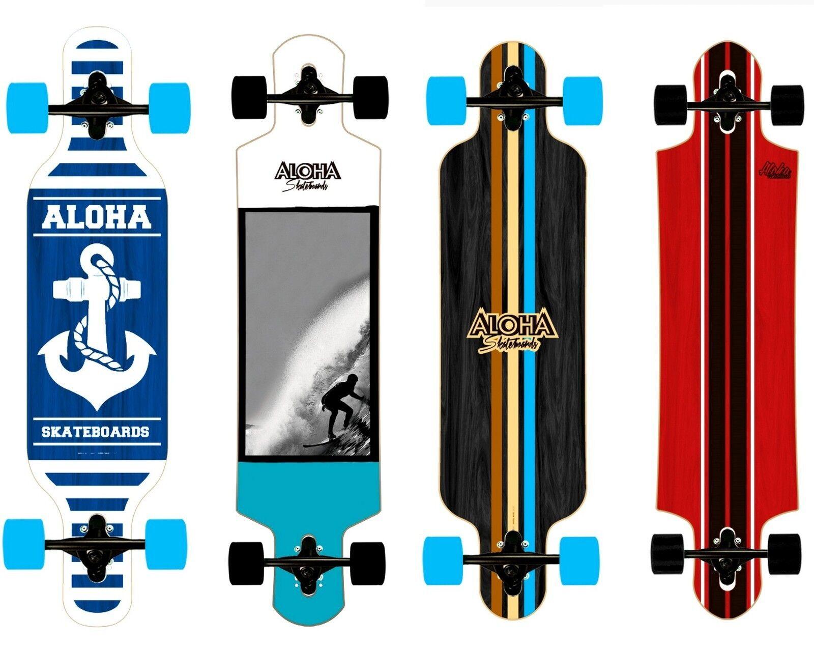 Longboard Longboard Longboard Aloha Drop Through in 4 modelle zur wahl Neu Skatebaord 3f86da