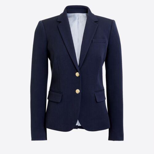 New J.Crew Factory Schoolboy Navy Blazer Size 6