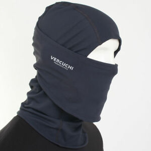 Balaclava FACE FULL MASK Dark Gray by WINDMASK under helmet Motorcycle Ski Hood