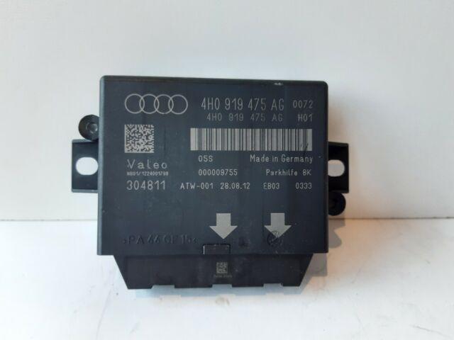 Audi A6 A7 C7 Control Unit Pdc Parking Aid Park Assist 4H0919475AG 2012