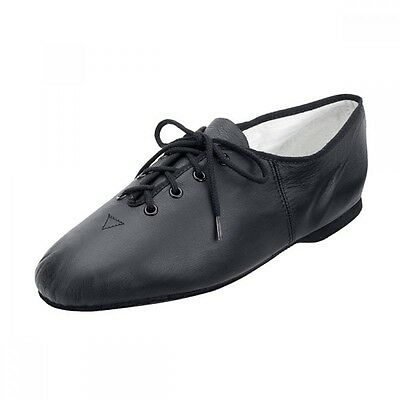 Bloch 462 Essential Black Leather Jazz Shoes with Full Sole  ALL SIZES